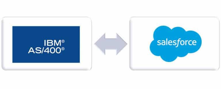 Salesforce IBM AS400 Integration - comselect