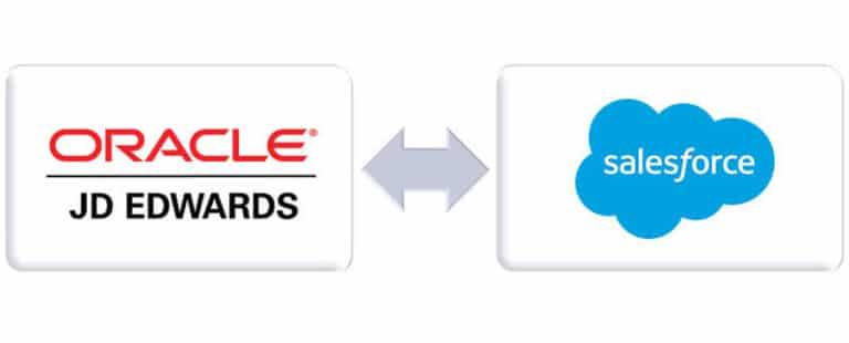 Salesforce Oracle JD Edwards Integration - comselect