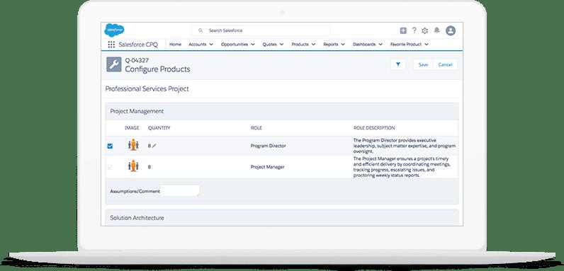 Angebotserstellung mit Salesforce CPQ