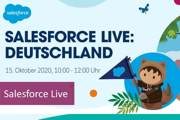 Salesforce Live Deutschland - comselect Blog