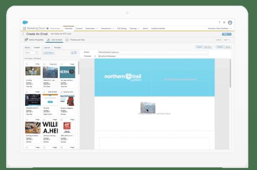 E-Mail Studio der Salesforce Marketing Cloud
