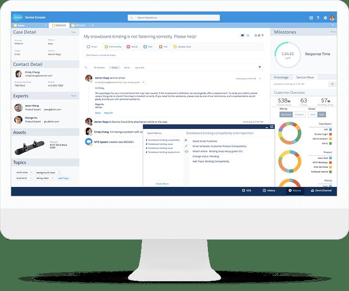 Salesforce Service Cloud kostenfrei testen