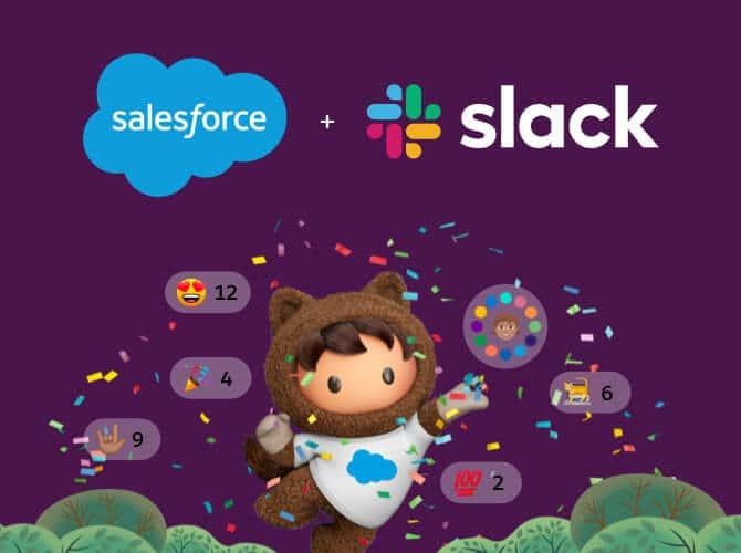 Salesforce und Slack